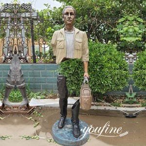 Famous Bronze Bruno Catalano Traveller Sculptures for Sale BOKK-986