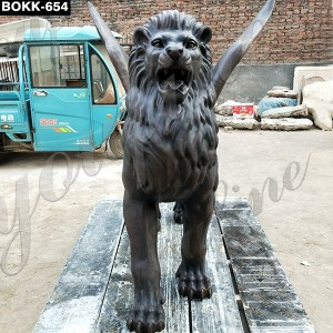 Winged Lion Statue for Sale BOKK-654