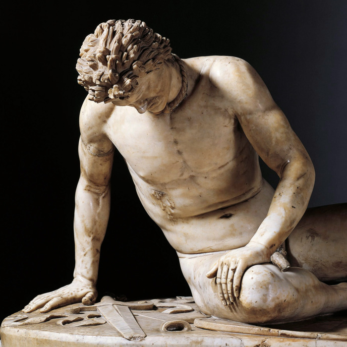 One Of The World Famous Top 10 Sculpture-The Dying Gaul