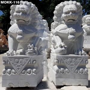 Life Size Garden Lion Sculptures MOKK-116