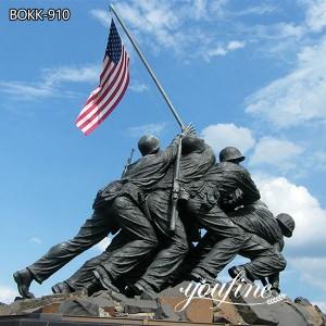 Large Outdoor Memorial Bronze Military Statue for Park BOKK-910