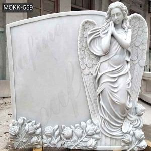 Buy New Design Marble Grave Angels Ornaments with Cheap Price MOKK-559