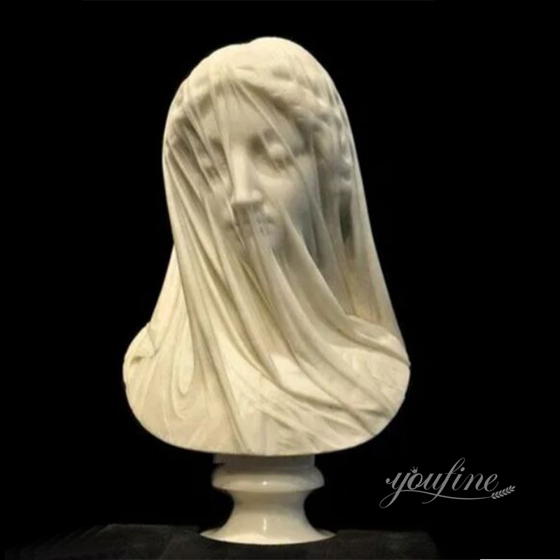The Perfect Strazza Veiled Virgin Statue Made by YouFine