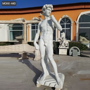 Life size Marble statue of david replica for sale MOKK-440
