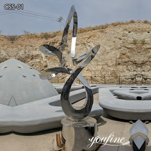Buy wind sculpture from stainless steel art manufacturer CSS-01