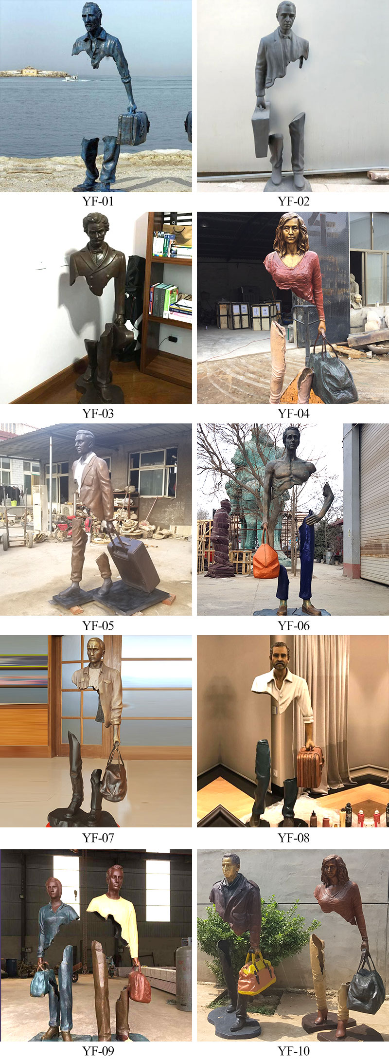 Famous Bruno catalano sculpture statue replica price cost