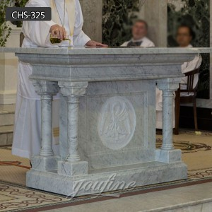 New design Religious marble Church table church altar for sale CHS-325