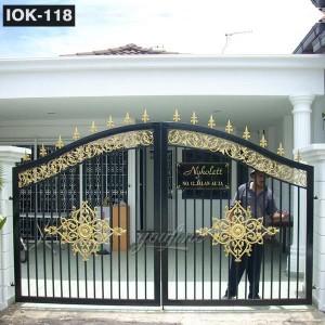 New Design Safety Iron Fence Gate IOK-118