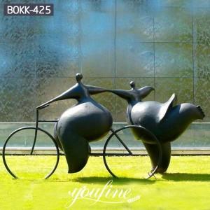 Famous Virtuo Roller Bronze Garden Statue for Sale BOKK-425