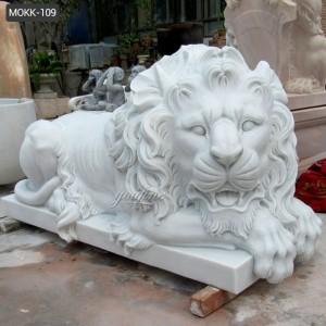 marble lion statue for sale marble lion statue MOKK-109