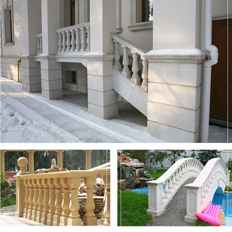 Marble balustrade in usa