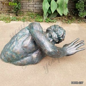 Famous Wall Art Matteo Pugliese Bronze Sculpture Replica for Sale BOKK-597
