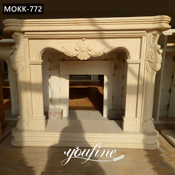 Antique Marble French Fireplace Mantels for Sale MOKK-772 Featured Image