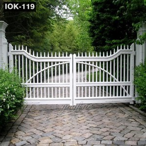 Garden Decoration Modern Iron Gate Designs IOK-119