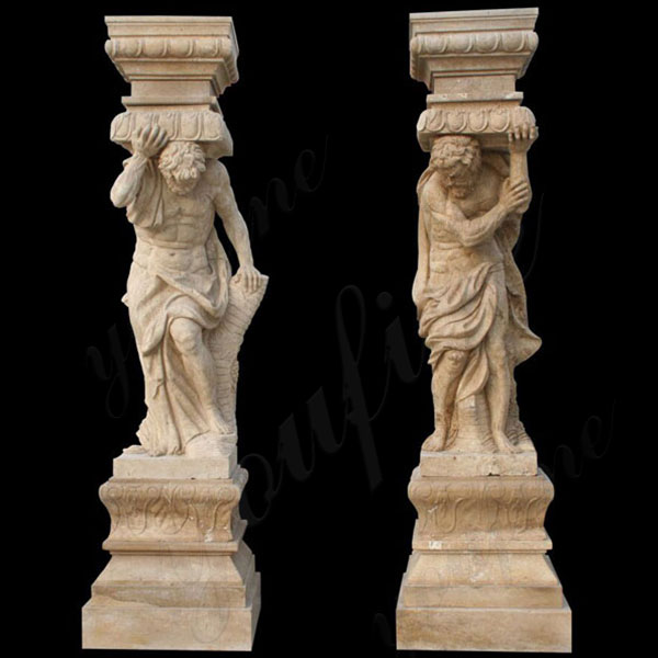 Porch Column Home Depot Marble Antique Figure Column Front Porch Columns with Stone Featured Image