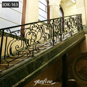 High Quality Wrought Iron Staircases Home Decor for Sale IOK-163