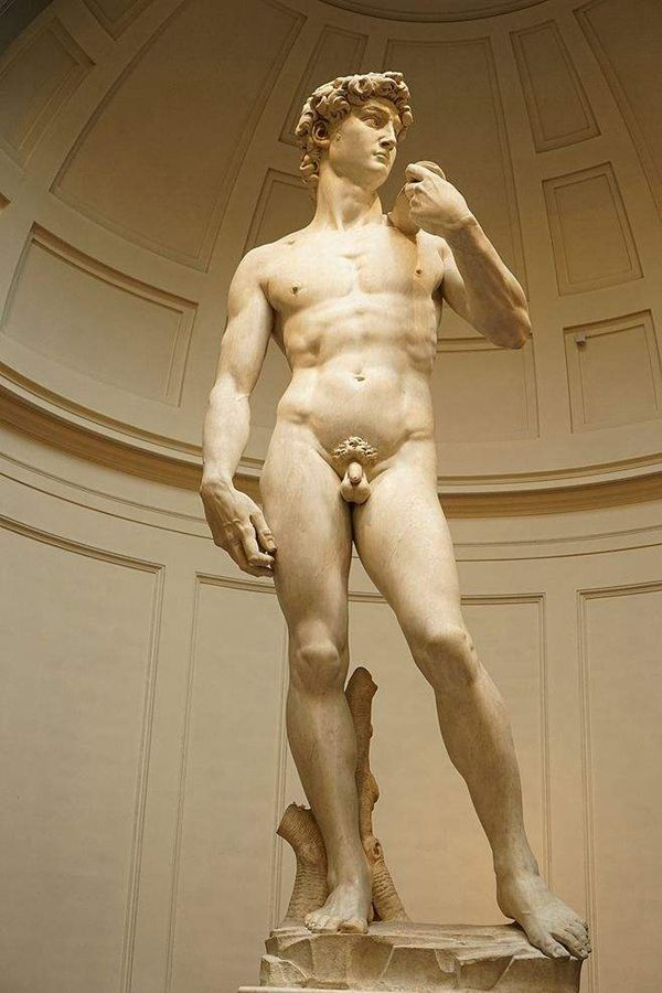 One of The World Famous Top 10 Sculpture-The David