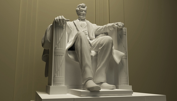 One Of The World Famous Top 10 Sculpture –Abraham Lincoln Statue by Daniel Chester