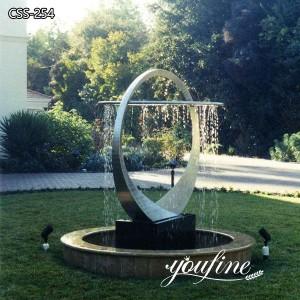 Outdoor Garden Metal Water Fountain Sculpture for Sale CSS-254
