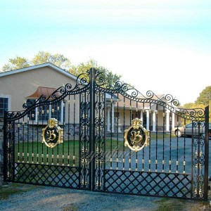 High Quality Wrought Iron Gate from Factory Supply IOK-125