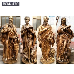 The Four Gospel Religious Statues for Sale BOKK-470