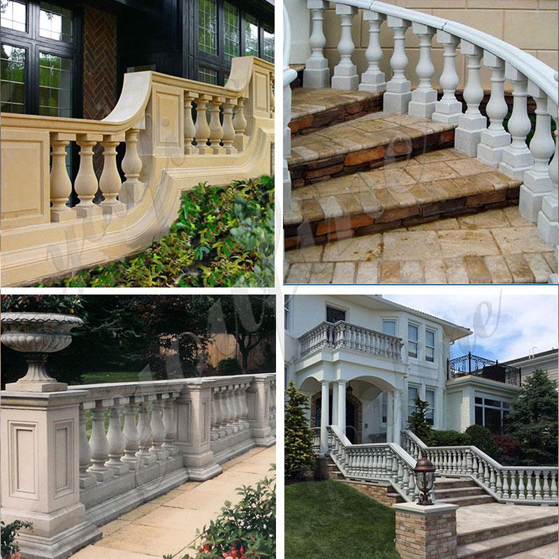 Marble-balustrade