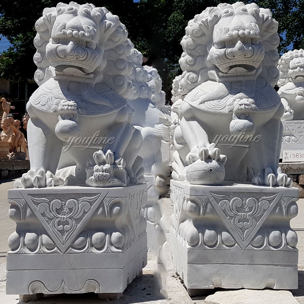 Designs of Chinese Lion Statue from You Fine