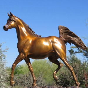Hot cast bronze horse life size horse statues for sale