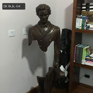 The Missing Pieces Famous Bronze Sculpture of Bruno Catalano for Sale BOKK-04