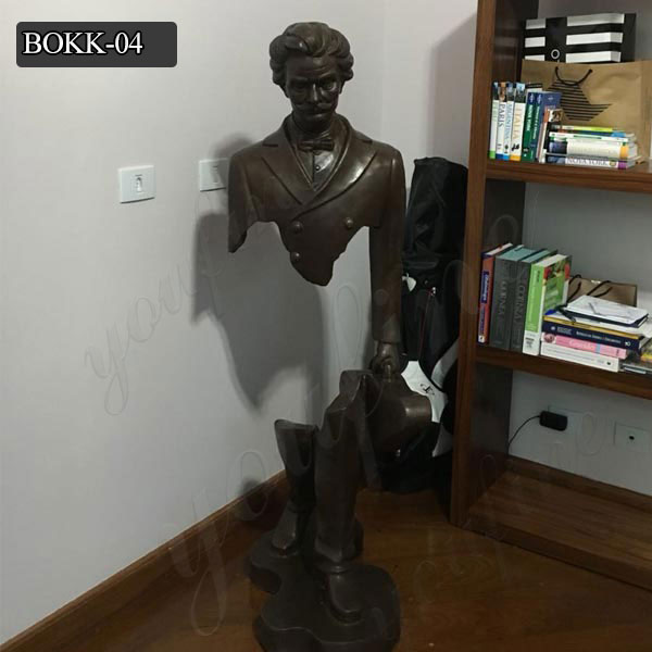 The Missing Pieces Famous Bronze Sculpture of Bruno Catalano for Sale BOKK-04 Featured Image