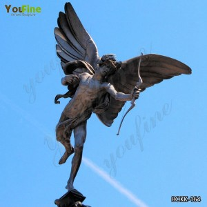 Life Size Bronze Angel Statue for Garden Decoration for Sale BOKK-156