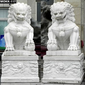Guardian Lion Statue for Sale MOKK-117