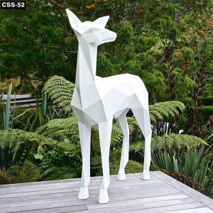 Cute Animal Large Metal Sculptures for Sale CSS-52