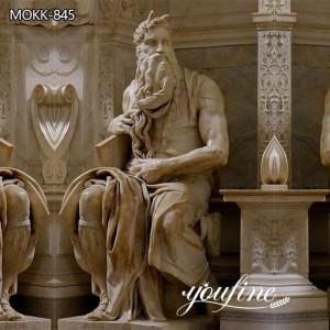 Vintage Renaissance Mosè di Michelangelo Sculpture for Sale MOKK-845