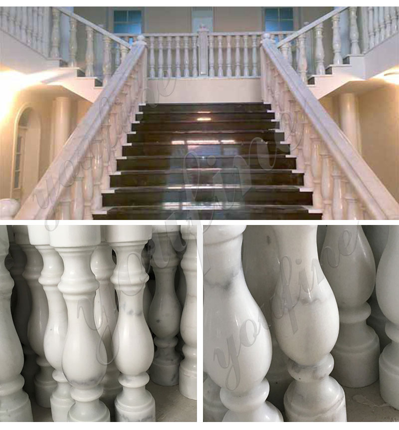 Marble balustrade for sale