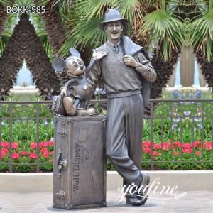 Life Size Bronze Disney Storytellers Statue for Park BOKK-985