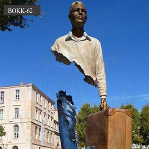Abstract Modern bronze figure statue bruno catalano sculptures for sale BOKK-62