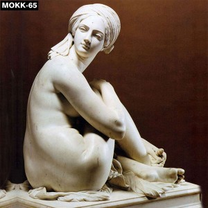 Nude Woman Marble Art Statue MOKK-65