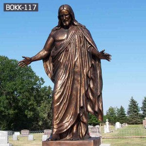 The Beat Cheap Life size Bronze Religious Statues of Jesus Wholesale  BOKK-117