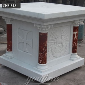 The Karra Marble Church altar marble altar for sale CHS-318
