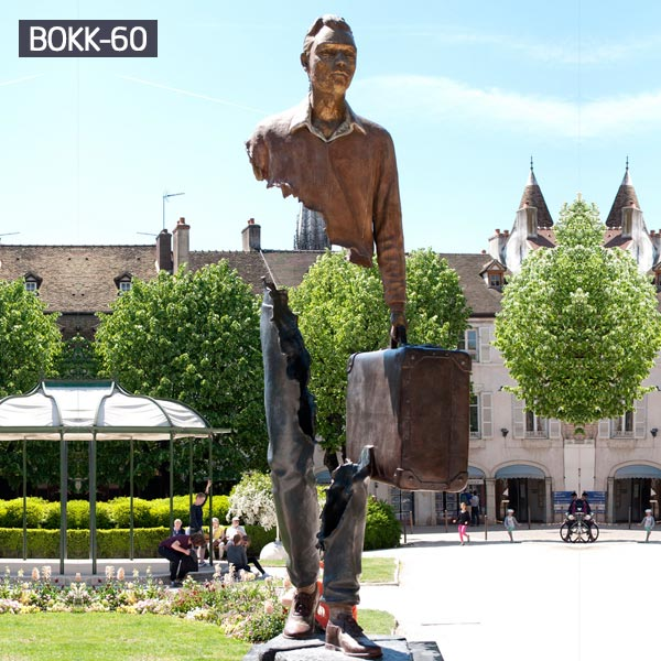 Famous Large outdoor decor Bronze bruno catalano At Good Price BOKK-60 Featured Image