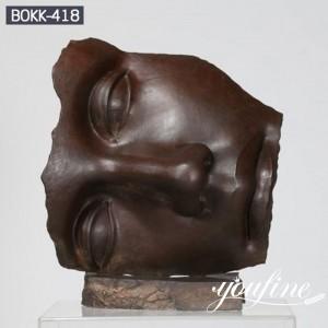 Outdoor Famous Large Face Bronze Igor Mitoraj Sculpture for Sale BOKK-418