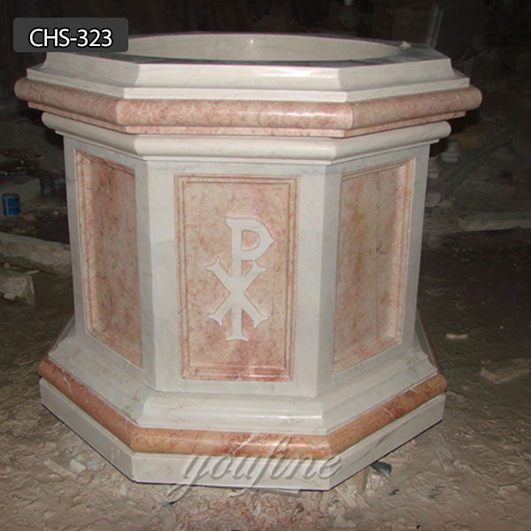 Hand carved pure natural marble religious catholic home altar supplies CHS-323 Featured Image