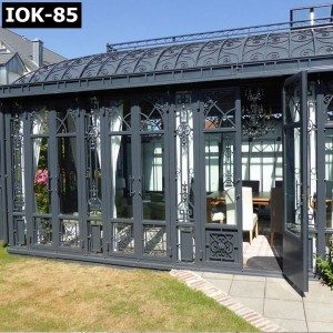 Hot Sale Antique Wrought Iron Gazebo IOK-85