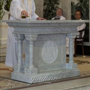 New design Religious marble Church table church altar for sale CHS-325
