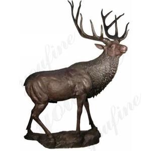 reindeer statue outdoor bronze reindeer statue for sale