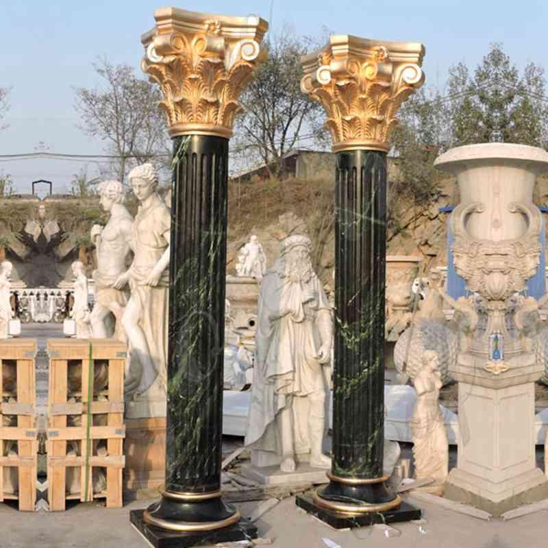 round porch columns