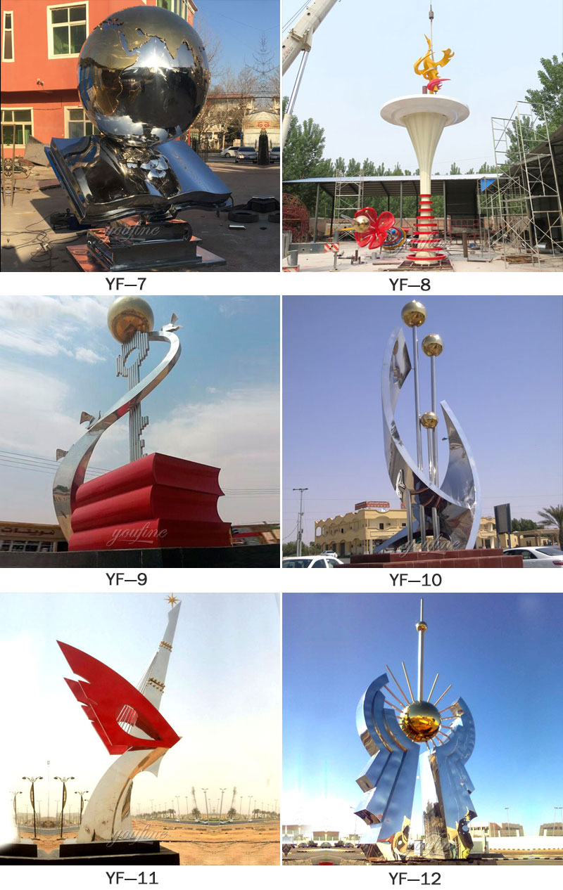 contemporary outdoor sculptures for sale UAE