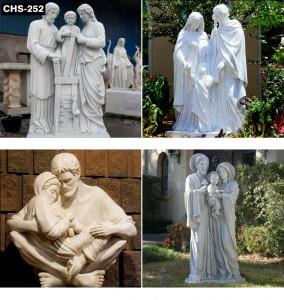 Home Decor Holy Family Statue CHS-252