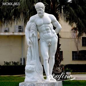 Life Size Marble Hercules Statue for Sale MOKK-863
